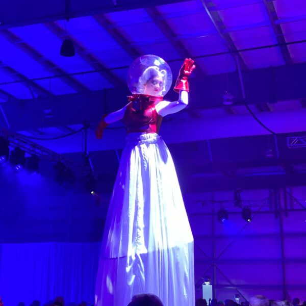 Outer Space-Themed Party at the Palm Springs Air Museum